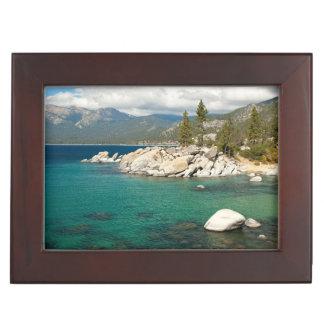 Lake Tahoe Landscape Keepsake Box