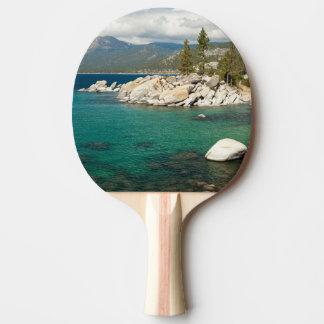 Lake Tahoe Landscape Ping Pong Paddle