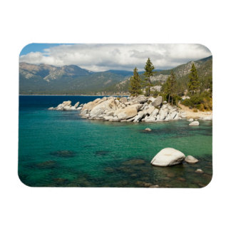 Lake Tahoe Landscape Rectangular Photo Magnet