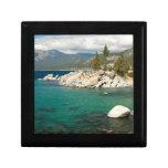 Lake Tahoe Landscape Small Square Gift Box