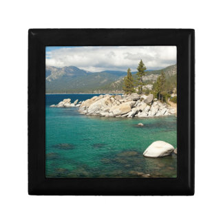 Lake Tahoe Landscape Small Square Gift Box