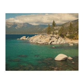 Lake Tahoe Landscape Wood Wall Decor