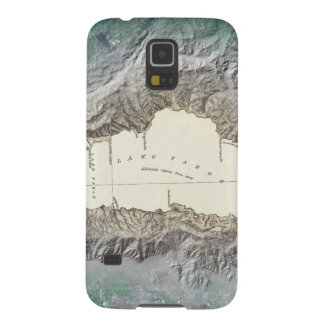Lake Tahoe map Galaxy S5 Cases