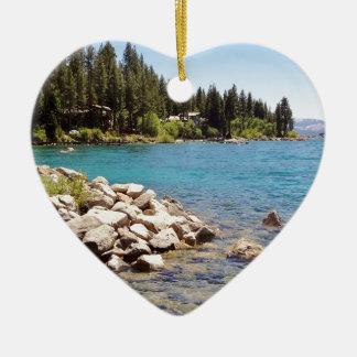 Lake Tahoe Nevada Christmas Ornament