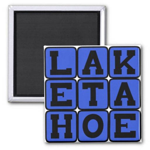 Lake Tahoe, Nevada Resort Fridge Magnets