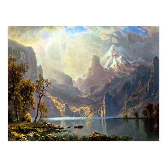 Lake Tahoe painting Nevada art by Albert Bierstadt