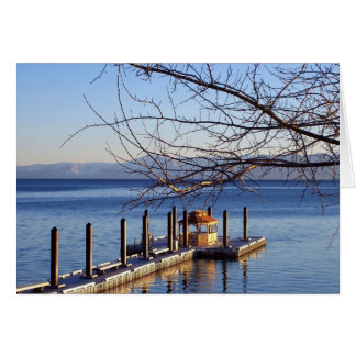 Lake Tahoe Pier Card