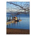 Lake Tahoe Pier II Card