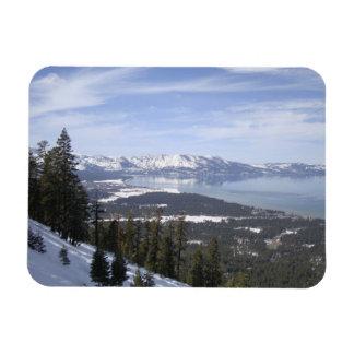 Lake Tahoe Rectangular Photo Magnet