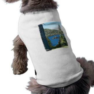 Lake Tahoe Sleeveless Dog Shirt
