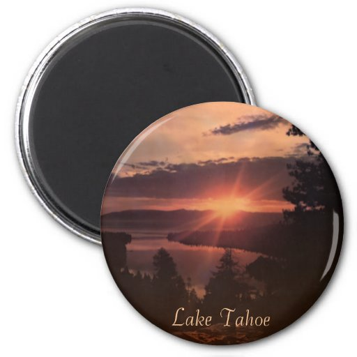 Lake Tahoe Sunrise Magnet