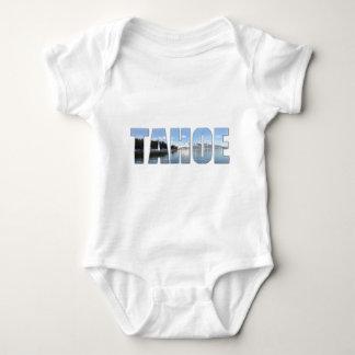 Lake Tahoe Text Baby Bodysuit