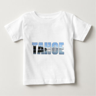 Lake Tahoe Text Baby T-Shirt