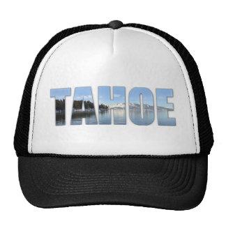 Lake Tahoe Text Cap