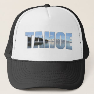 Lake Tahoe Text Trucker Hat