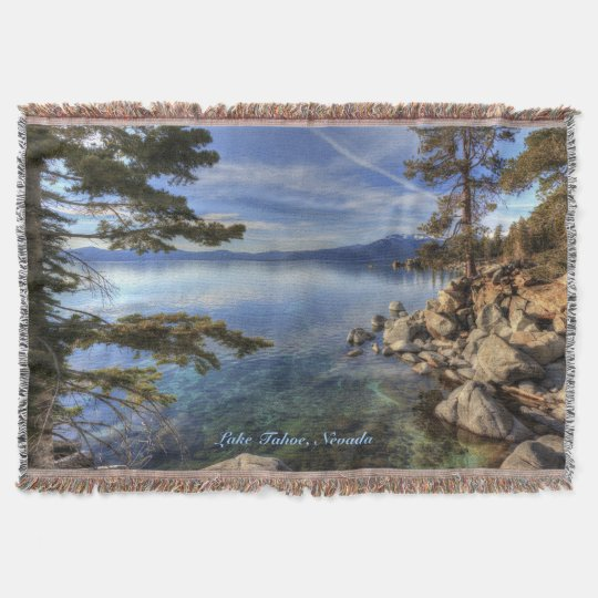 Lake Tahoe Throw Blanket