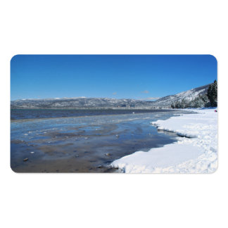 Lake Tahoe Winter Business Card Templates