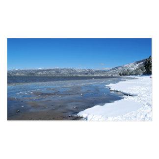 Lake Tahoe Winter Business Card Templates