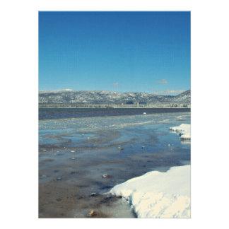 Lake Tahoe Winter Personalized Invitation