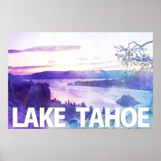 Lake Tahoe's Emerald Bay Poster