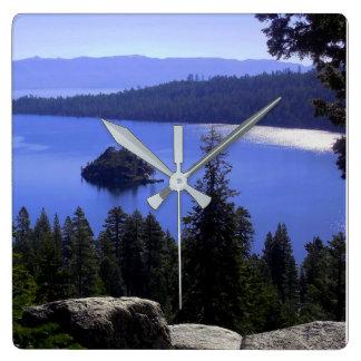 Lake Tahoe's Emerald Bay Wall Clock