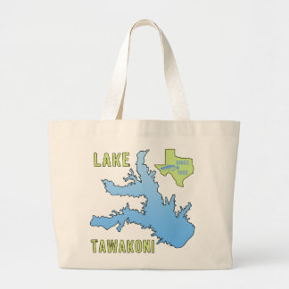 Lake Tawakoni Jumbo Tote Bag
