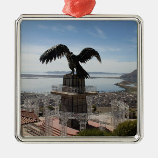 Lake Titicaca Puno Peru Christmas Ornament