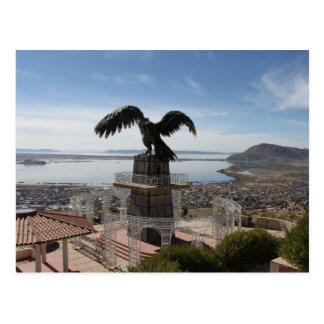 Lake Titicaca Puno Peru Postcard