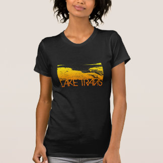 Lake Travis Skyline Design T-Shirt