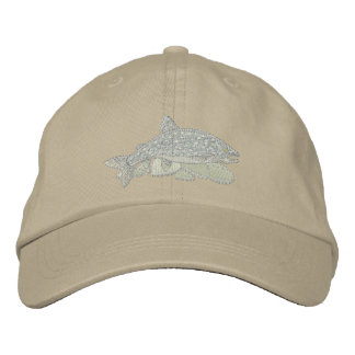 Lake Trout Embroidered Hat