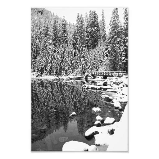 Lake Twenty Two Fine Art Black and White Print Art Photo