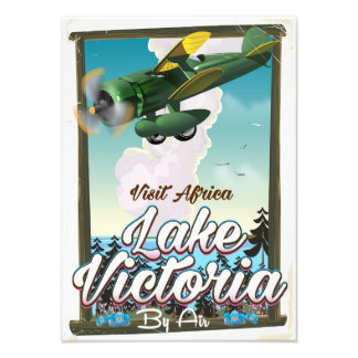 Lake Victoria African vacation poster Photograph