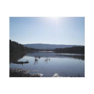 Lake View Canvas Prints