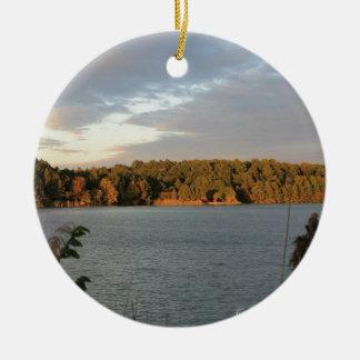 Lake View Christmas Ornament