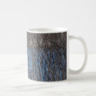 Lake View Classic White Coffee Mug