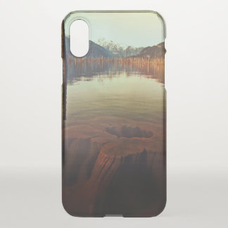 Lake View iPhone X Clearly™ Deflector Case