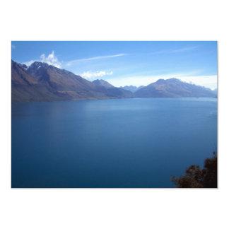 Lake Wakatipu 13 Cm X 18 Cm Invitation Card