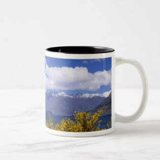 Lake Wakatipu and the Remarkables, Queenstown, Two-Tone Coffee Mug