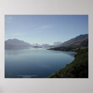 Lake Wakatipu near Glenorchy, New Zealand Posters