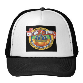 Lake Wales Crown Jewel Orange Cap