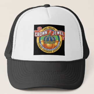 Lake Wales Crown Jewel Orange Trucker Hat