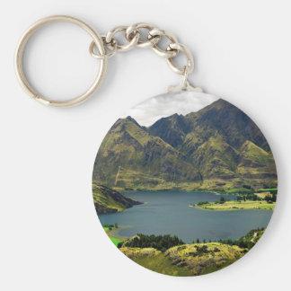 Lake Wannaka New Zealand Key Chain