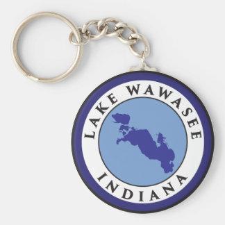 Lake Wawasee, Indiana Key Ring