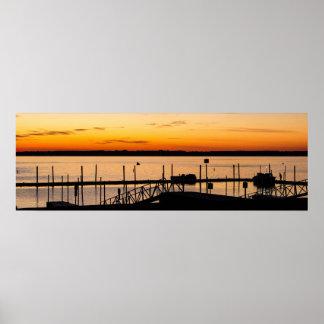 Lake Weir at Dawn Poster