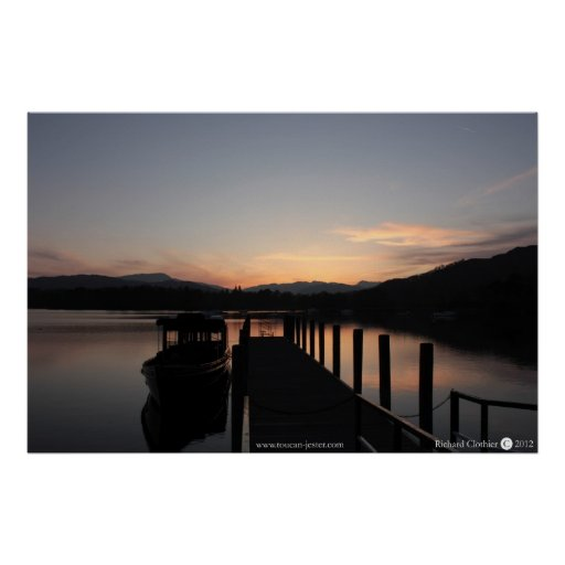 Lake Windemere, The Lake District Poster