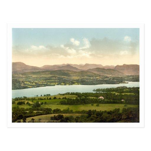 Lake Windermere I, Lake District, Cumbria, England Post Card