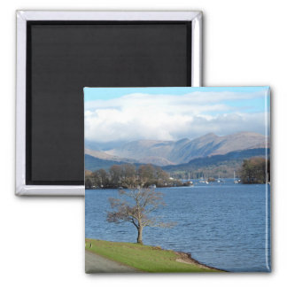 Lake Windermere Square Magnet