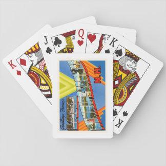 Lake Winnipesaukee #2 New Hampshire NH Old Travel Poker Deck