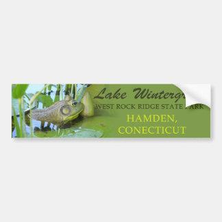 Lake Wintergreen - Frog Bumper Sticker