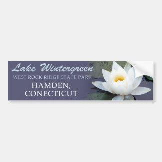 Lake Wintergreen - Hamden, CT Bumper Sticker